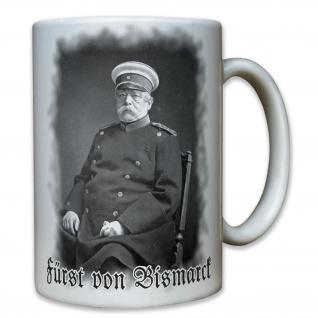 Fürst von Bismarck Deutschland eiserner Kanzler Otto Eduard - Tasse #8047