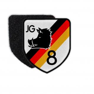 Patch JG8 Jagdfliegergeschwader DDR NVA Luftstreitkräfte Wappen Matern #30067