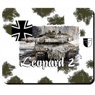 Mauspad Lukas Wirp Wintermanöver Leopard 2 Bundeswehr Leo Panzer #26071
