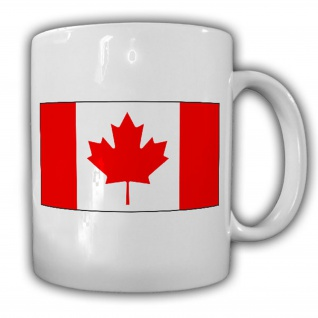 Kanada Fahne_Flagge Canada Kaffee Becher #13533
