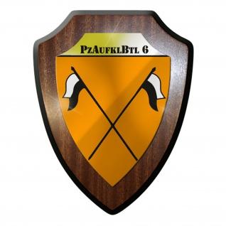 Wappenschild - PzAufklBtl 6 Panzeraufklärungsbataillon Abzeichen Emblem #8832