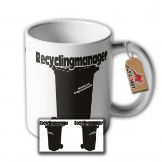 Müllmann Reinigungskraft Müllmanager Entsorger Fachkraft Fun Spaß Humor. #33857