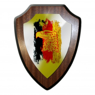 Deutschland schwarz rot gold Adler Bundesrepublik Germany Wappenschild #19877