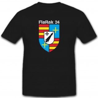 Flarak 24 Flugabwehrraketen 24 Wappen Abzeichen Bundeswehr - T Shirt #3304