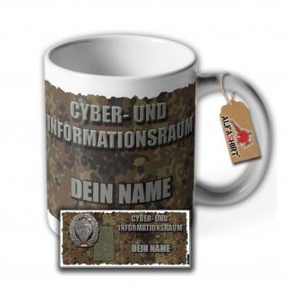 Tasse Cyber- und Informationsraum KdoCIR CIR Marsch griffe Bundeswehr #36068