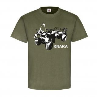 Kraka Fahrzeug Militär Kraftfahrzeug Wappen Abzeichen Emblem Heer T Shirt #3839