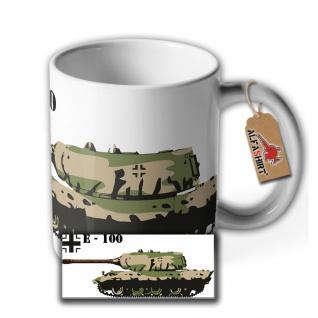 Tasse Panzerkampfwagen E-100 Panzerprojekt Prototyp Kaffee Barista Bohnen#35535