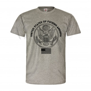 United states of Amerika USA Murica Fun Adler Fahne Army T Shirt #26883