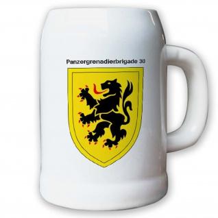 Krug / Bierkrug 0, 5l -28.Bierkrug Panzergrenadierbrigade 30 PzGrenBrig #12992