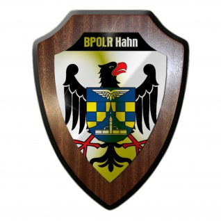 Wappenschild - BPOLR Hahn Flughafen Bundespolizei Revier Koblenz Wappen #18785