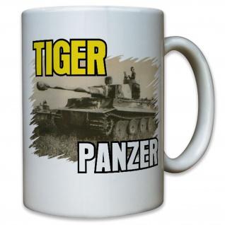 Tiger Panzer Panzerkampfwagen Panzer Kampfpanzer Bild Foto - Tasse #9959 t