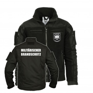 Tactical Fleecejacke Militärischer Brandschutz Bundeswehr Feuerwehr #35251