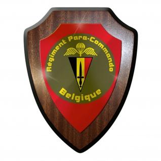 Wappenschild/Wandschild / Wappen - Régiment Para-Commando Brigade Emblem #10010