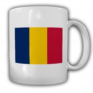 Tasse Tschad Fahne Flagge Republik Kaffee Becher #13948