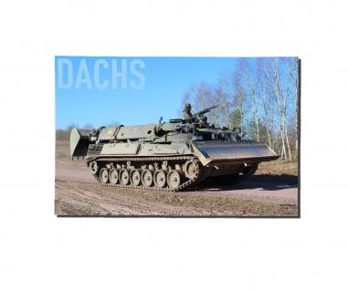 Poster M&N Dachs Pionier-Panzer Bundeswehr Plakat Bagger BW ab30x20cm#30259