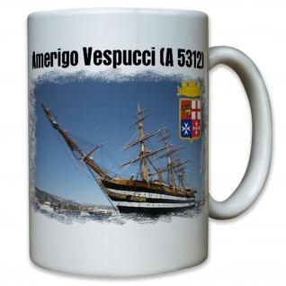 Amerigo Vespucci A 5312 Segelschulschiff Italien italienische - Tasse #12339