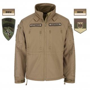 ISAF Veteranen Heer Tactical Softshell-Jacke BW Bundeswehr Afghanistan #32490