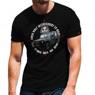 Wolf G Model Klasse Bundeswehr Bw Militär Auto SUV T-Shirt #32148
