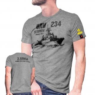 UAW 234 Teterow Projekt 133 1 Parchim-Klasse U-Jagdschiff Schiff T Shirt #30036