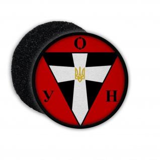 Patch OUN B 01 Wappen Wappenzeichen Aufnäher Abzeichen Klett #22257