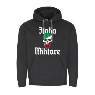 Italia Militare - Italien Militär Armee Totenschädel - Kapuzenpullover #7320