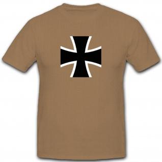 Bundeswehr Kreuz Deutschland Armee Deutschland- T Shirt #4557