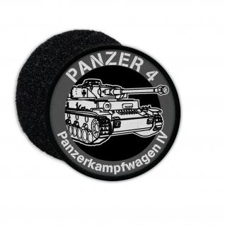 Patch Panzer 4 Panzerkampfwagen IV 7, 5cm Abzeichen Munster Tanks Aufnäher #23238