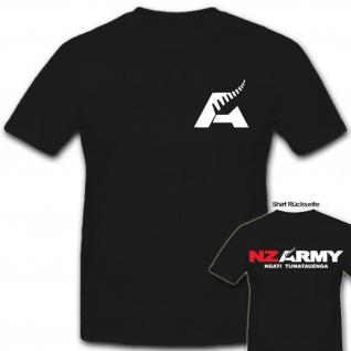 Nz Army Neuseeland Militär Wappen Abzeichen Emblem- T Shirt #6408