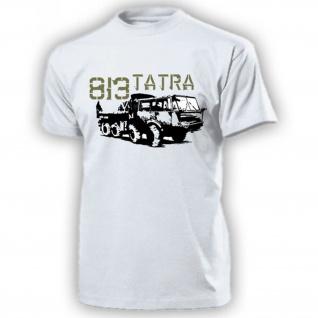 TATRA 813 LKW 8x8 Koloss Militär Transporter DDR NVA Oldtimer - T Shirt #17927