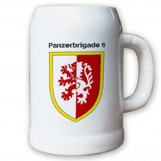 Krug / Bierkrug 0, 5l -9.Bierkrug Panzerbrigade6 PzBrig6 Brigade Panzer #12973