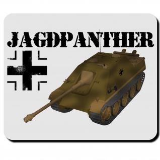 Jagdpanther WK Panzer Heer Balkenkreuz Geschütz Waffe Militär Mauspad #16436