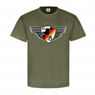 JG 8 Jagdfliegergeschwader DDR NVA Luftstreitkräfte Hermann Matern Wappen #22051