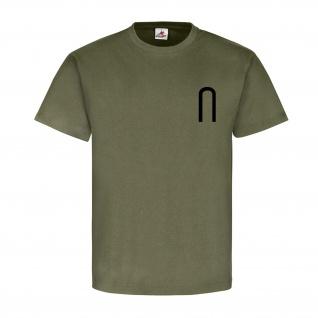 Unteroffizier Dienstgrad Bundeswehr BW Abzeichen Schulterklappe T Shirt #15885