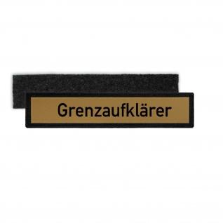 Namenspatch Grenzaufklärer DDR Grenztruppe Marine Bundesgrenzschutz NVA #30472