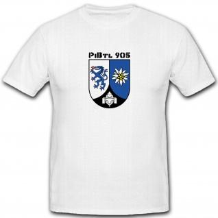 Pibtl 905 Militär Wappen Abzeichen Pionierbataillon 905 - T Shirt #5588