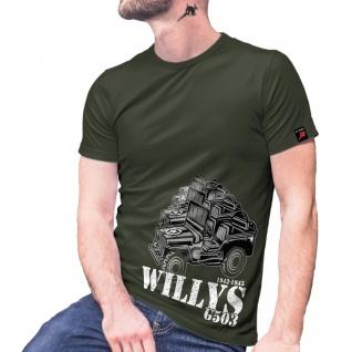 Willys G503 Militär Armee Fahrzeug Marine ww2 Amerika US GI T-Shirt#29078