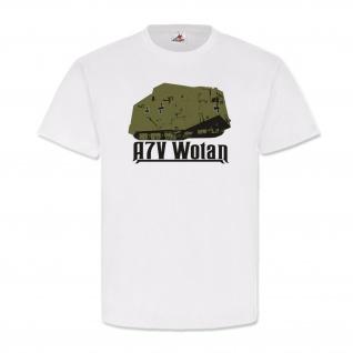Militär Heer WH WK Kampfpanzer A7v Wotan - T Shirt #2872