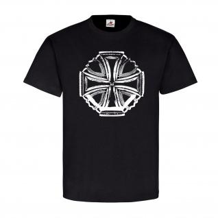 Eisernes Preußische Kreuz Preußen König Wilhelm Kaiser WK1 Ehren T-Shirt#23134