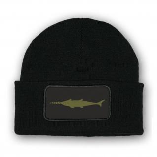 Mütze/Beenie - Kampfschwimmer Schwertfisch Sägefisch Kampftaucher - #10333m