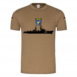 BW Tropen Mölders D186 Wappen Schiff Bundeswehr Marine Klasse 103 #21817