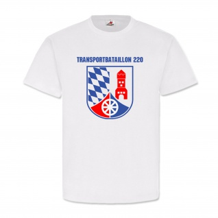 Transportbataillon 220 BW Wappen Abzeichen Prinz Eugen Kaserne T Shirt #19273