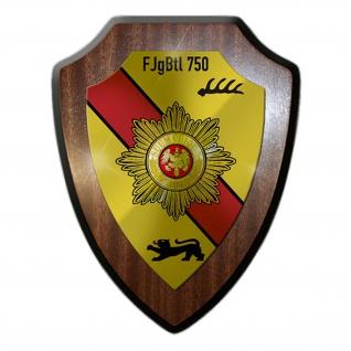 FJgBtl 750 Feldjägerbataillon BW Wappen Abzeichen Emblem Wappenschild #17882
