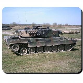 Leo 2A4 Bundeswehr Kampfpanzer Leopard 2 Panzer Bataillon Btl - Mauspad #9772