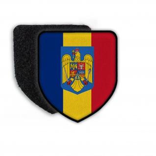 Patch Landeswappenpatch Rumänien Wappen Adler König Bukarest Romania Mihai#21962