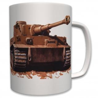 Tiger lV (2) Panzer Foto Panzerkampfwagen Deutscher Panzer - Tasse #6227