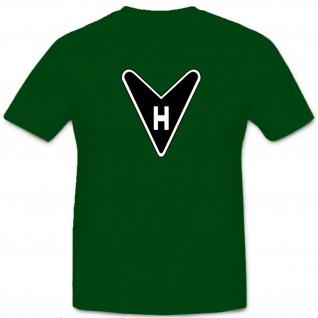 Horten Ho 229 Logo Emblem Jagdflugzeug Jet - T Shirt #5183b