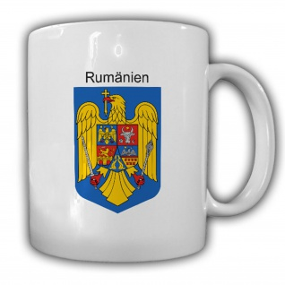 Rumänien Wappen Emblem România Kaffee Becher Tasse #13871