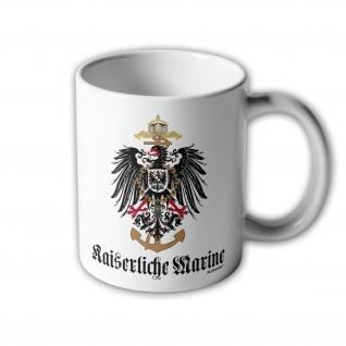 Tasse Adler Kaiserliche Marine Flotte Geschwader Deutschland Marineschule #32997