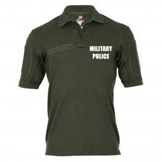 Tactical Poloshirt Alfa - Military Police MP Militärpolizei Feldjäger #19304
