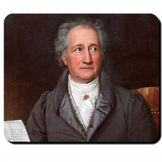 Göthe Johann Wolfgang von Goethe Dichtung Kunst Land der Dichter Mauspad #16246